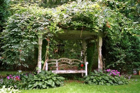 garden arbor bench two men and a little farm inspiration thursday recycled