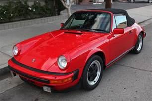 1983 Porsche 911sc Cabriolet 1983 Porsche 911sc Cabriolet Outstanding Year
