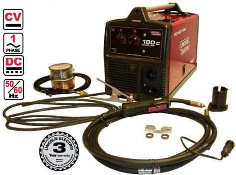 lincoln electric 180c lincoln electric power mig 180c mig welder 230v 1ph ebay