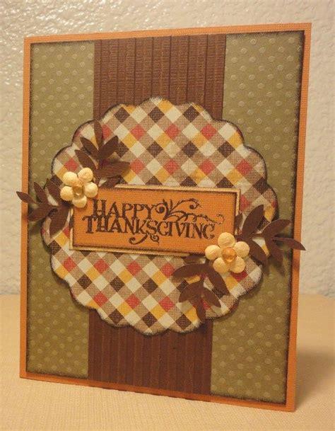 Handmade Thanksgiving Card Ideas - 25 best ideas about handmade thanksgiving cards on