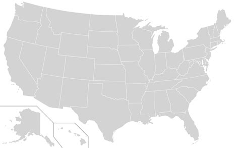 map of usa states only file blank us map states only svg wikimedia commons