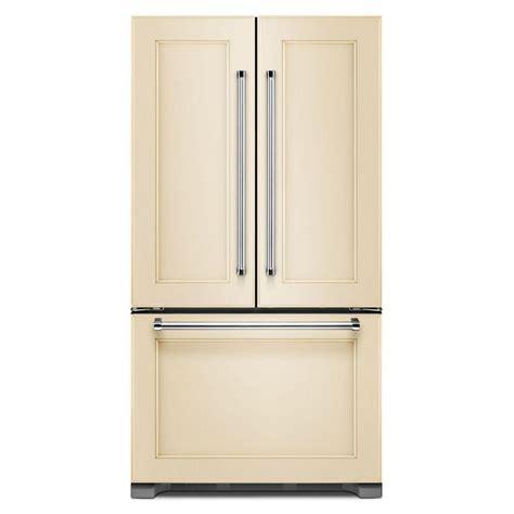 kitchenaid cabinet depth refrigerator krfc302epa kitchenaid 36 quot 22 cu ft counter depth