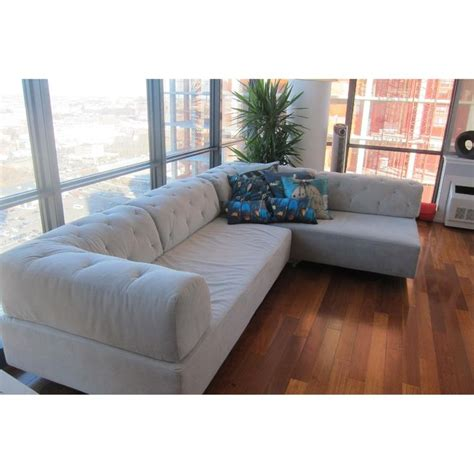West Elm Tufted Tillary Sectional Sofa 5 Sofas Tillary Tufted Sofa