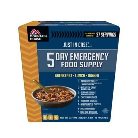 where to buy mountain house meals mountain house just in case 5 day emergency food kit