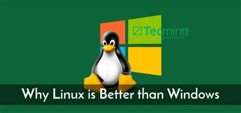 what does linux do better than windows who is root why does root exist