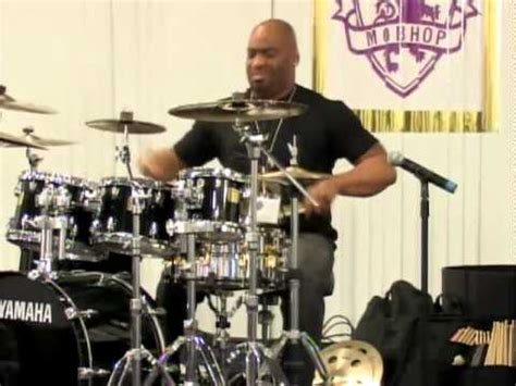 calvin rodgers calvin rodgers drum solo dcmj s las vegas clinic youtube