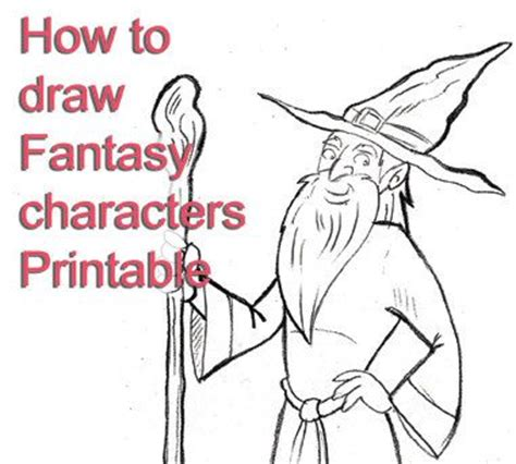 how to draw pdf how to draw characters printable pdf