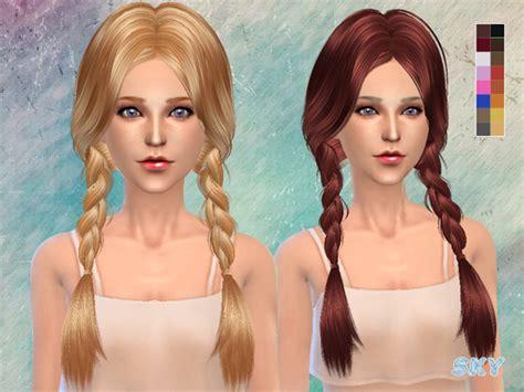 the sims 4 cc braids the sims 4 cc hair braids newhairstylesformen2014 com