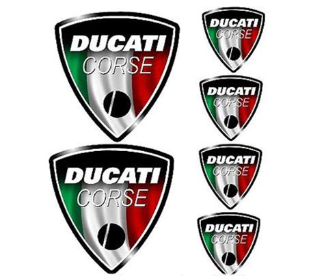 Sticker Ducati Vintage by Motovation Frame Sliders And Accessories Shopping