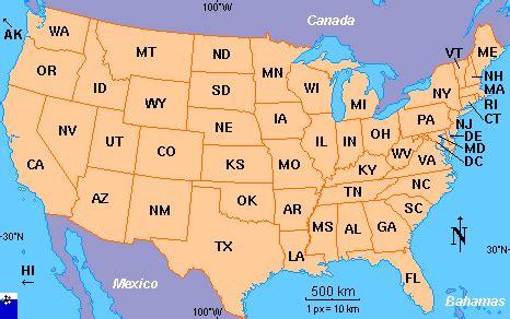 amphibiaweb: united states map search