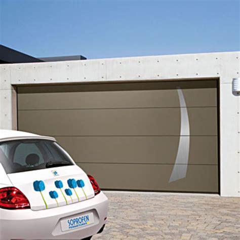 porte de garage sectionnelle isol 233 e 224 refoulement plafond