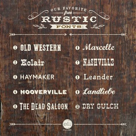 free printable rustic fonts top 10 free rustic fonts typography fonts pinterest
