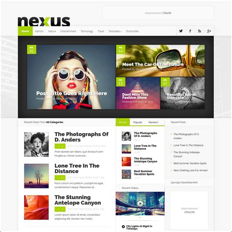 worpress template templates http webdesign14