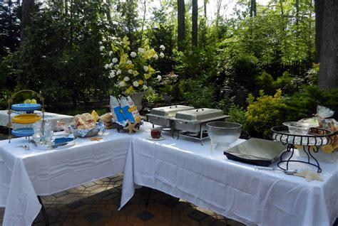 casual backyard wedding reception a perfect setting a casual wedding celebration
