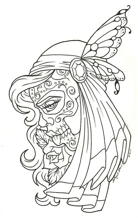 day of the dead coloring pages pdf day of the dead coloring pages free dia de los muertos