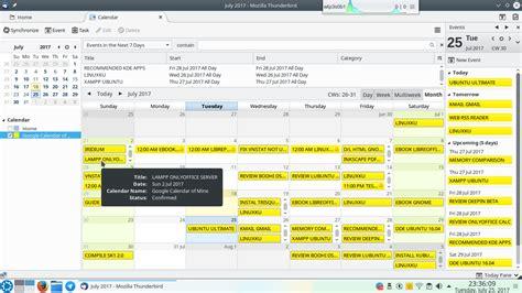 Calendar Sync Thunderbird How To Setup Thunderbird For Calendar Caldav Read