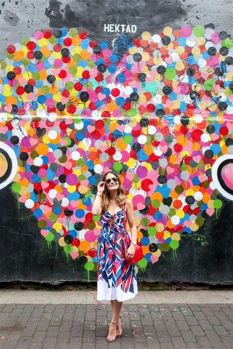 york street art murals colorful walls