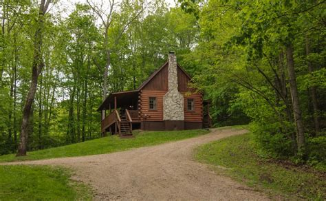 Secluded Cabins In Hocking by Secluded Hocking Log Cabin Homeaway Ohio