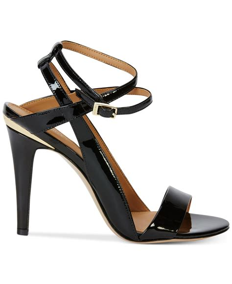 klein sandals calvin klein s melville ankle sandals in black
