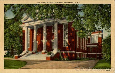 Post Office Thomasville Ga by T 31 Baptist Church Thomasville Ga