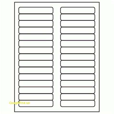 Avery Hanging File Labels Template Templates Data Hanging Folder Tab Template
