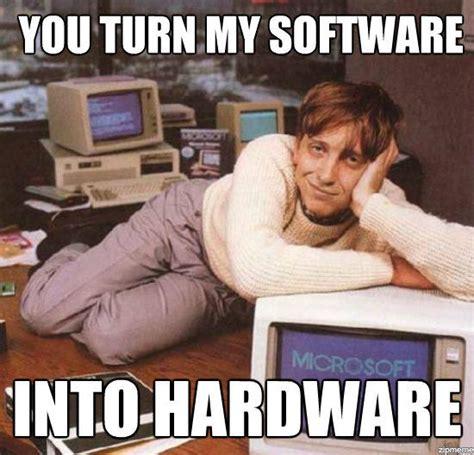 Meme Software - bill gates know your meme