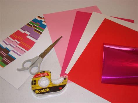 membuat kartu ucapan origami pop up word card craft crossing