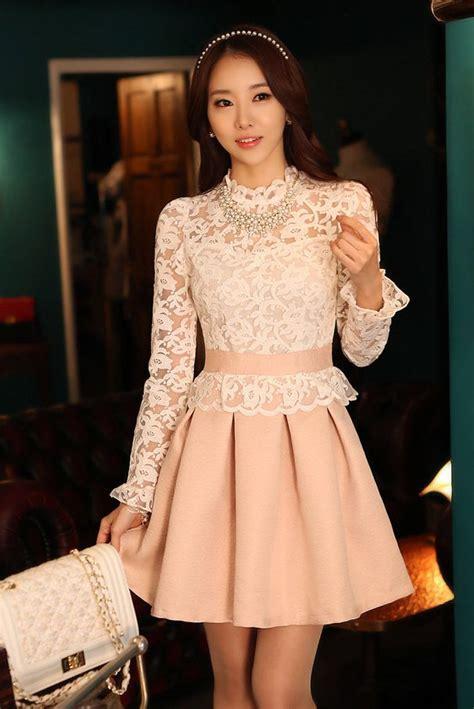 Korea Princess Dress Import Jk4212 dress cantik korea style princess look dress