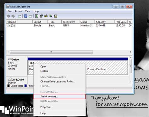 cara membuat power point windows 7 cara membuat partisi di windows 7 winpoin