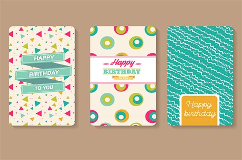 card template sets set of happy birthday cards card templates on creative