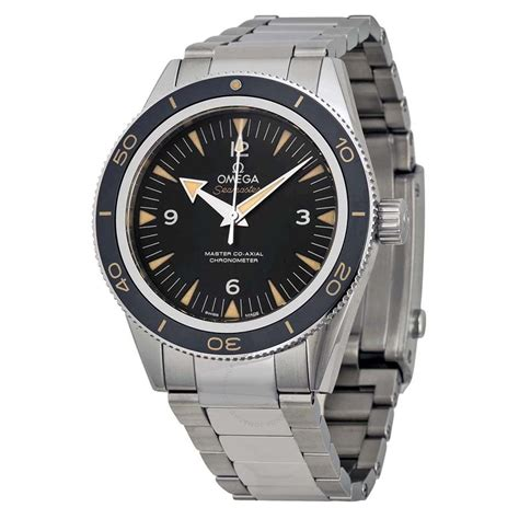 watches for omega seamaster 300 automatic black dial men s watch