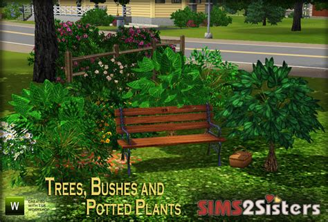 empire sims 3 3 small potted plants by lisen801 sims2sisters s2s trees bushes and potted plants
