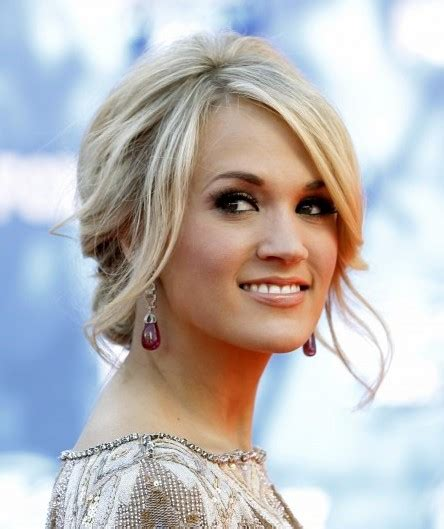 Carrie Underwood Updo Hairstyles by Carrie Underwood Updo Hairstyles 2012 Popular Haircuts