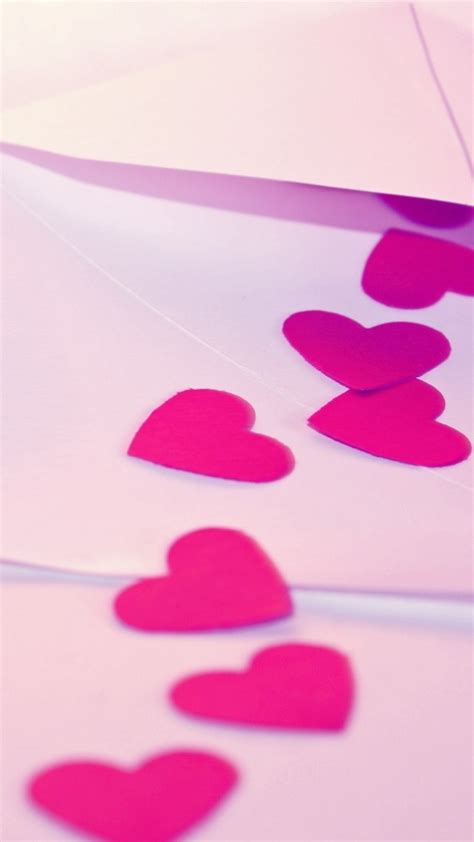 wallpaper pink android sony xperia z1 wallpapers pink hearts android wallpaper