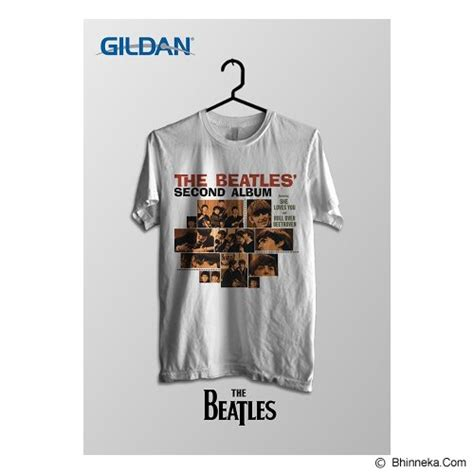 Kaos The Beatles Original Gildan Softstyle Be16 jual tomoinc the beatles second album kaos band original gildan size xl btl004 murah