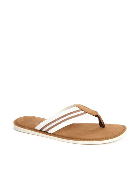 aldo slippers for aldo gurhaval sandals in white for lyst