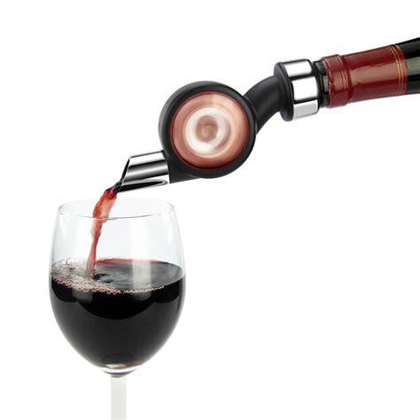 Penuang Botol Wine Magic Aerator Pour vinaerator wine aerator and bottle stopper the green