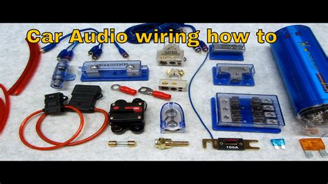 how to connect s and wire up a system