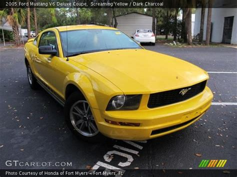 2005 ford mustang yellow 2005 ford mustang screaming yellow