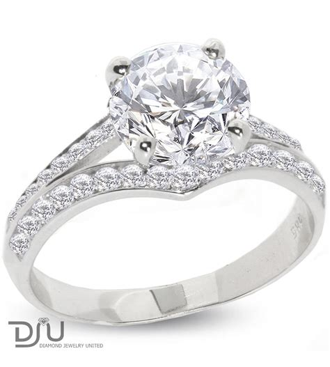 2 33 carat e si1 solitaire engagement ring