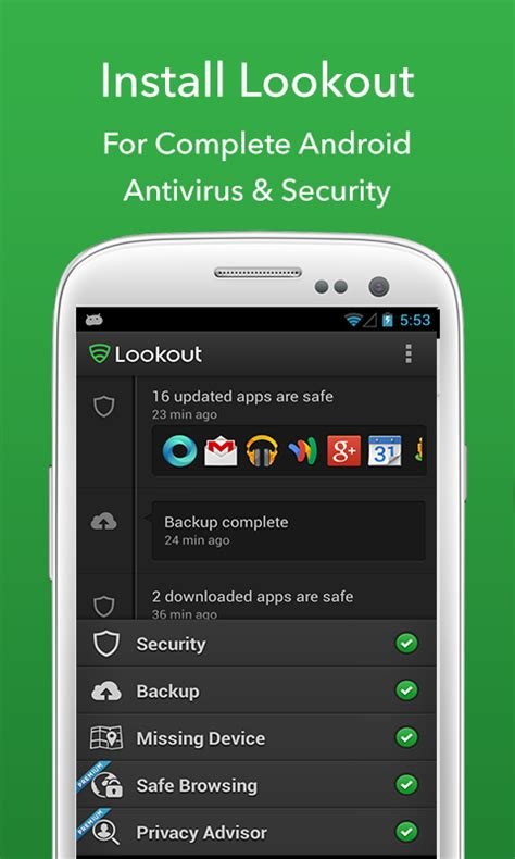lookout for android heartbleed security scanner android apps on play