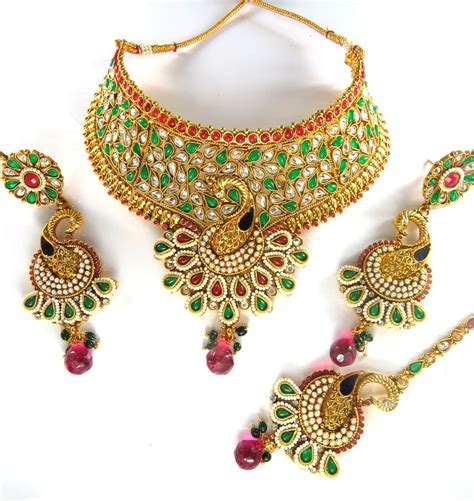 Indian Bridal Jewelry Export: October 2015