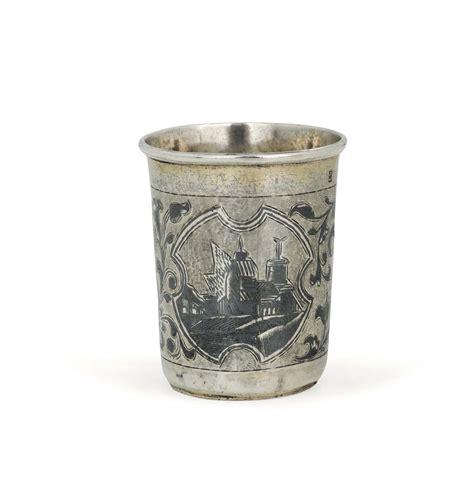 bicchieri argento bicchiere in argento sbalzato cesellato e niello mosca