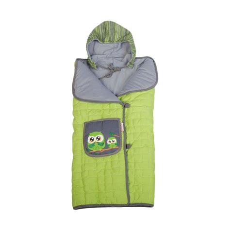Baby Pocket Selimut jual dialogue baby topi owl series selimut bayi hijau