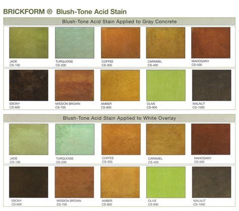 brickform color chart brickform color chart 7 best integral color color charts
