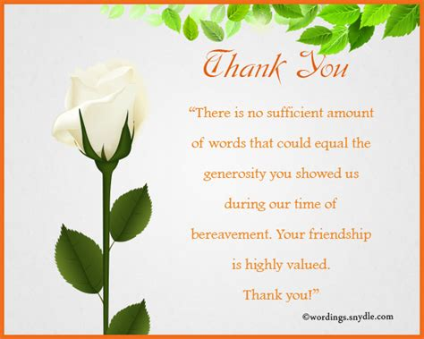thank you for comforting words bereavement thank you cards km creative