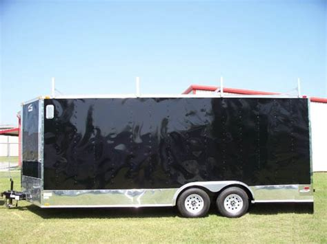 enclosed trailer awning for sale elite 20 foot enclosed trailer with awning 439