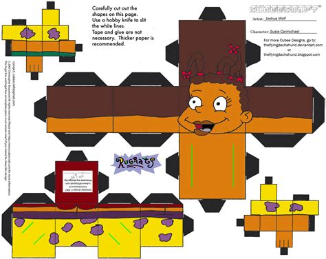 Papercraft Costume - rr susie carmichael cubee by theflyingdachshund on deviantart