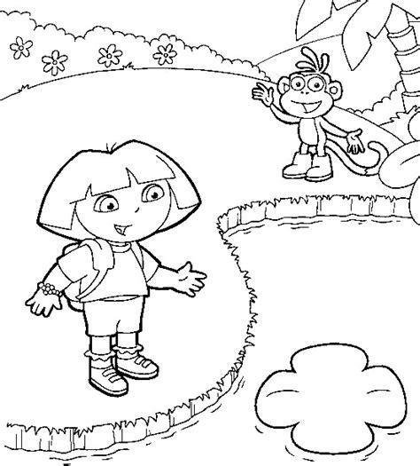 dibujos para colorear de dora la exploradora dibujos para colorear de dora la exploradora plantillas