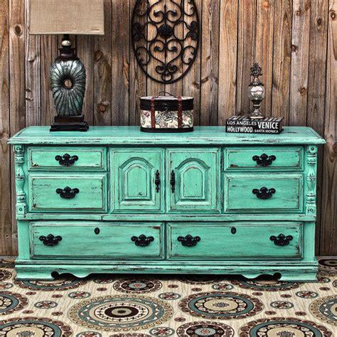 distressed bedroom dressers aqua dresser distressed buffet shabby from aquaxpressions on